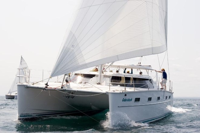 Featured yacht- Antares 44i, the ocean-crossing catamaran