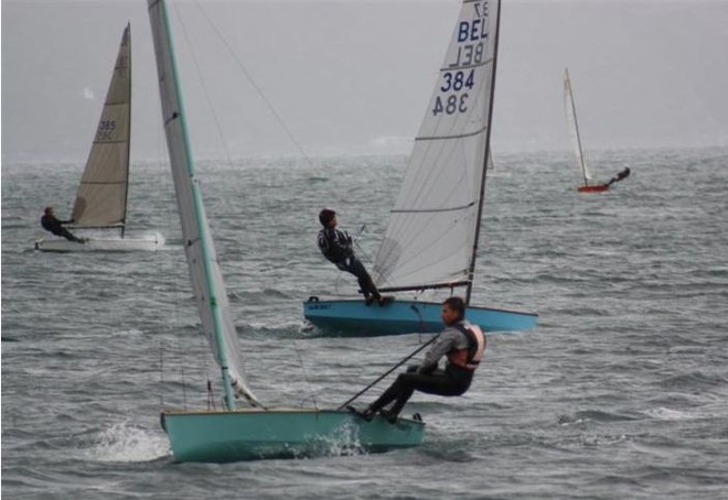 Andrew Brown on his way to winning the 2010 3.7 Nationals, Evans Bay, Wellington © Evans Bay YMBC