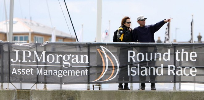 Images from JP Morgan Asset Management Round the Island Race