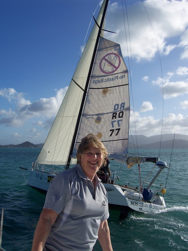 A pround mum - SOS Ocean Racing  © Save Our Seas - Ocean Racing http://www.sosoceanracing.com/