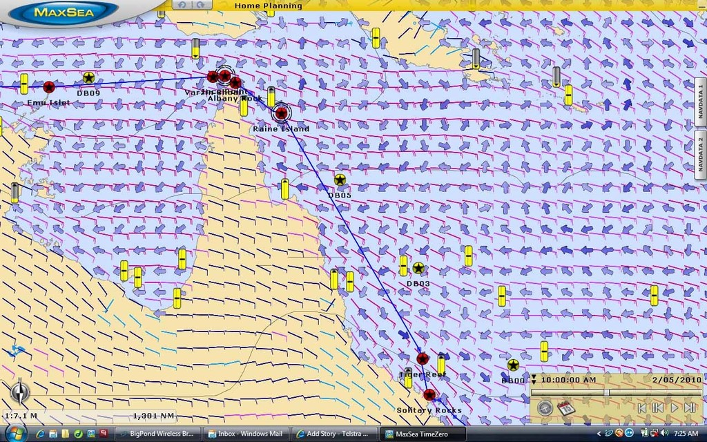 Maxsea Weather for May 2nd - SOS Ocean Racing Departure © Julie Geldard http://www.vidpicpro.com