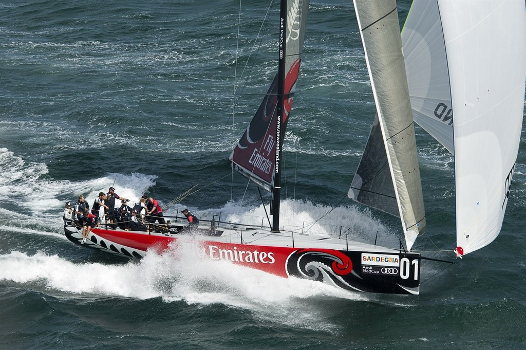 Emirates Team New Zealand won the Audi MedCup in 2009 and 2010  © Chris Cameron/ETNZ http://www.chriscameron.co.nz