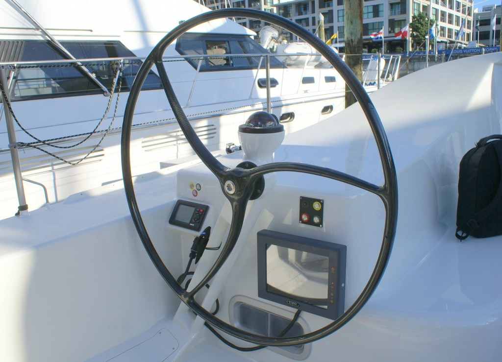 A look aboard the new JP54- Above decks a one sided yacht!