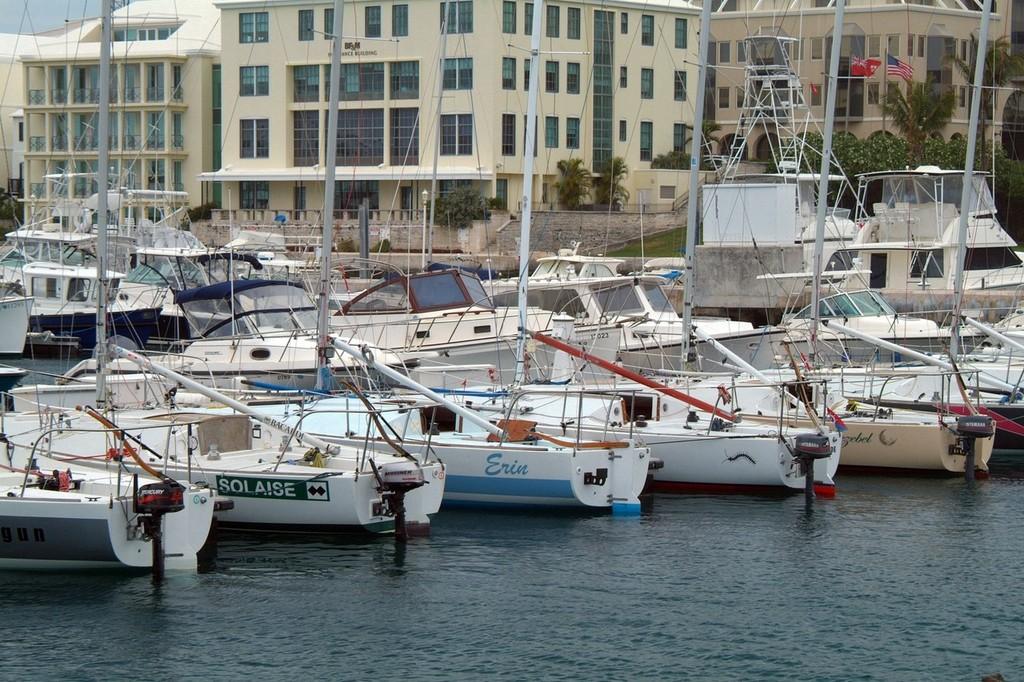 Bermuda Race Week J24 Erwin sunk on Tuesday - will race Thursday