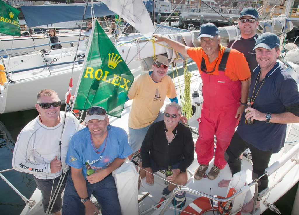 ILLUSION, Sail No: 5356, Owner: Jonathan Stone, State: NSW, Division: IRC, Design: Davidson 34, LOA (m) : 10.3, Draft (m): 2.5 ©  Rolex/Daniel Forster http://www.regattanews.com