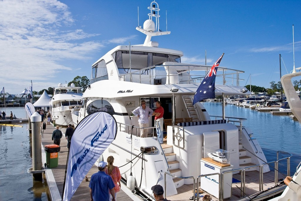 Sanctuary Cove 2009 onwater luxury © Sanctuary Cove International Boat Show http://www.sanctuarycoveboatshow.com.au/