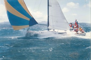 Young 11 on the surge in Wellington photo copyright Jim Young taken at  and featuring the  class