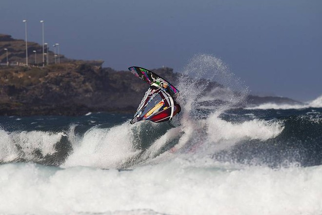 Amazing 360 from Mussolini - PWA Tenerife World Cup 2011 day two © PWA World Tour http://www.pwaworldtour.com