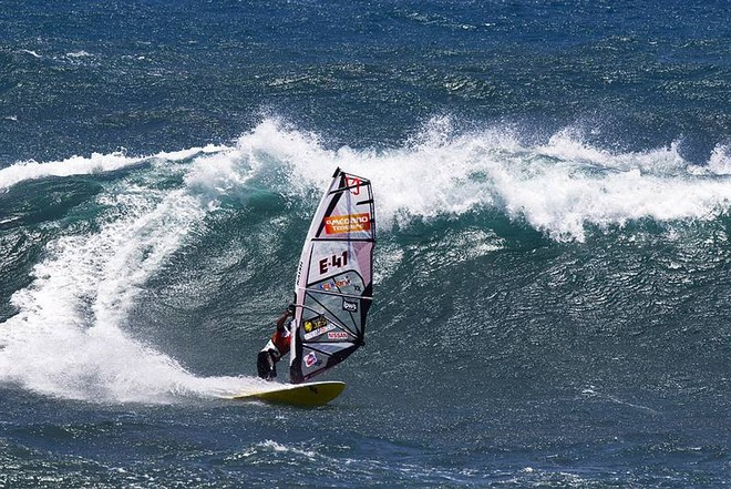 Big wave for Alonso - PWA Tenerife World Cup 2011 day two © PWA World Tour http://www.pwaworldtour.com