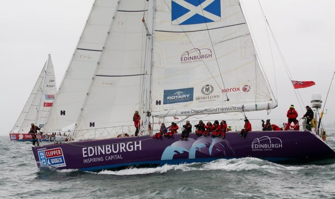 Edinburgh Inspiring Capital - Clipper 11-12 Round the World Yacht Race  © www.smileclick.co.nz/onEdition