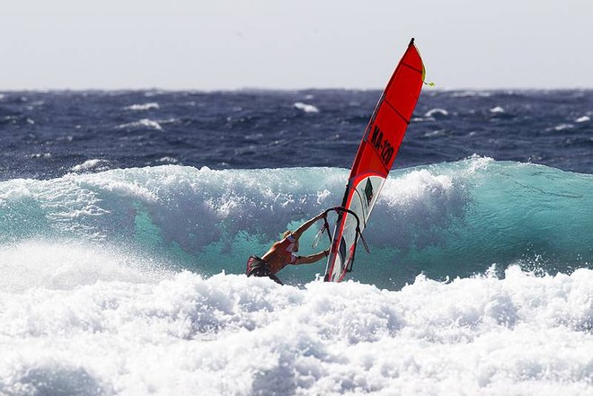 Jaeger Stone bottom turn - PWA Tenerife World Cup 2011 day two © PWA World Tour http://www.pwaworldtour.com