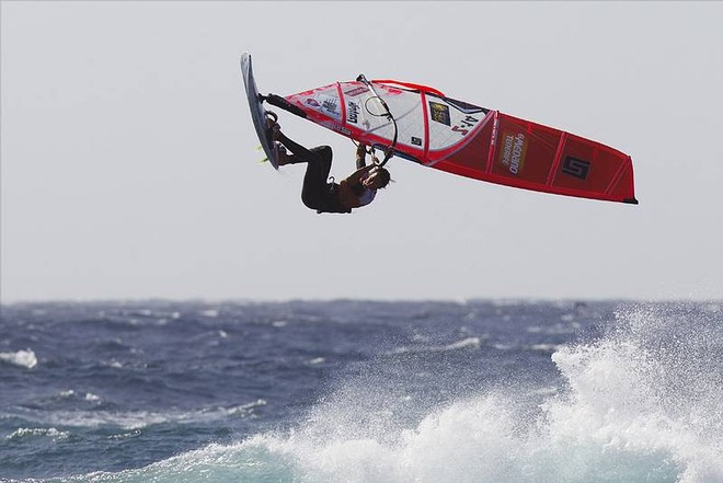Karin Jaggi - PWA Tenerife World Cup 2011 day two © PWA World Tour http://www.pwaworldtour.com