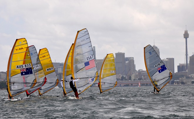 The day started off grey at the Sail Sydney November regatta. © Mainsheet Media
