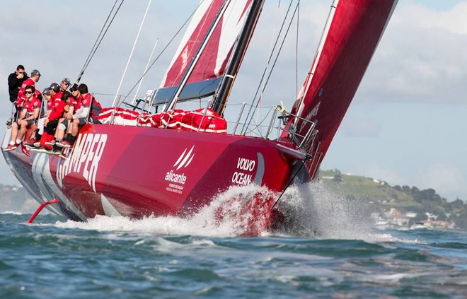 Camper's Volvo Ocean Race entry is one campaign run by Emirates Team NZ  © Ivor Wilkins