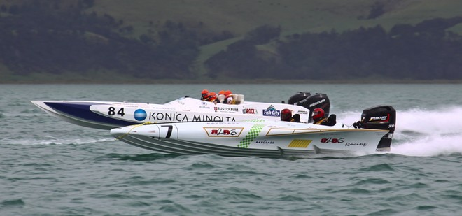 'Konica Minolta' had another successful week along with 'Back2Bay6' © Cathy Vercoe LuvMyBoat.com http://www.luvmyboat.com