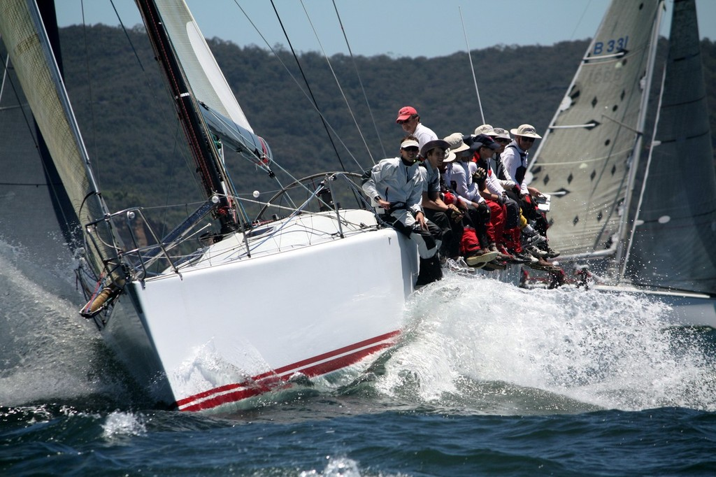 Pretty Woman got off to a great start - 2012 Pittwater & Coffs Harbour Regatta © Damian Devine