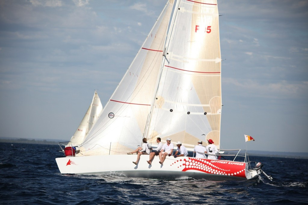 Addams Family - winner of division 3, race 1. - Geographe Bay Race Week 2011 © Bernie Kaaks - copyright