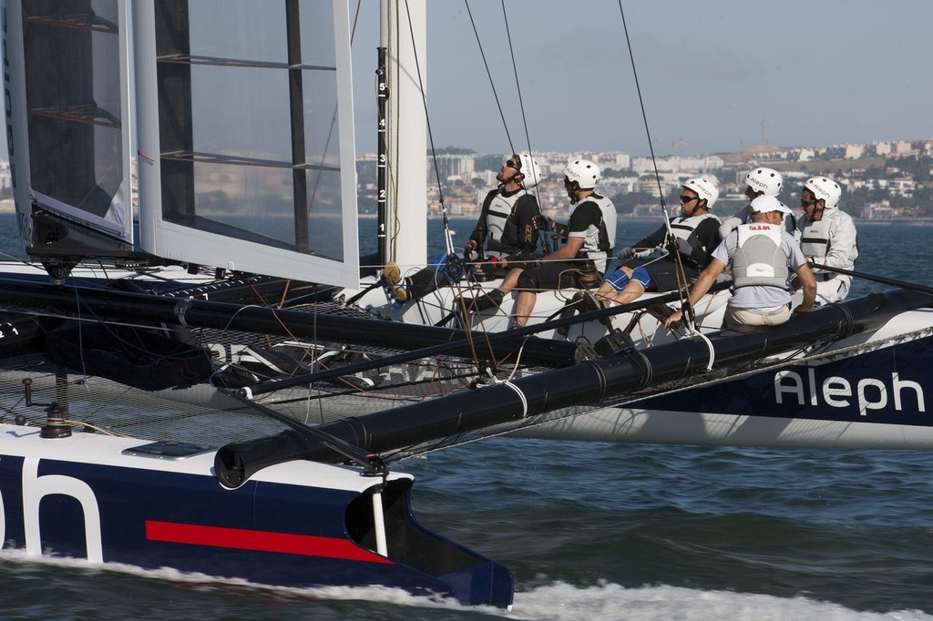 AC World Series - Cascais 2011 - Aleph Shakedown  © ACEA - Photo Gilles Martin-Raget http://photo.americascup.com/