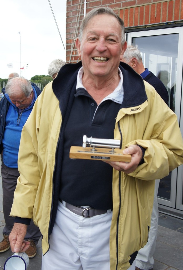 Bob Fisher after the presentation of ``Bob's Bolt`` in 2011 photo copyright SW taken at  and featuring the  class