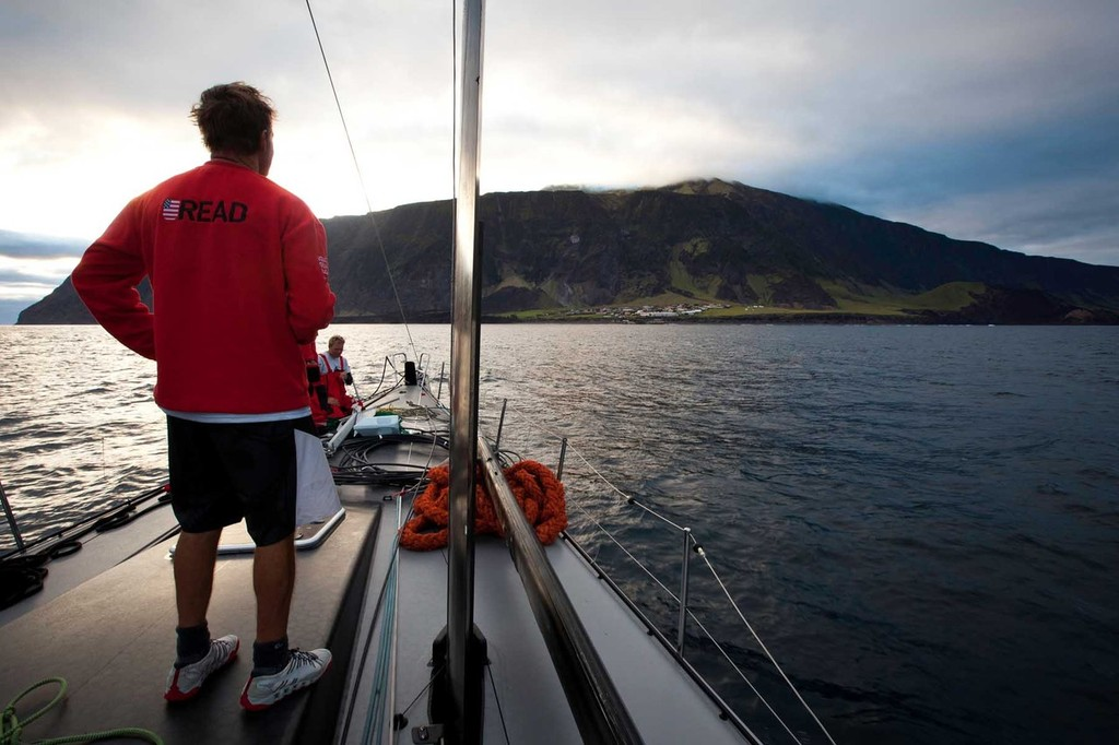 4f058325429e Ken Read eyes Tristan de Cunha for the first time after PUMA Ocean Racing  powered by