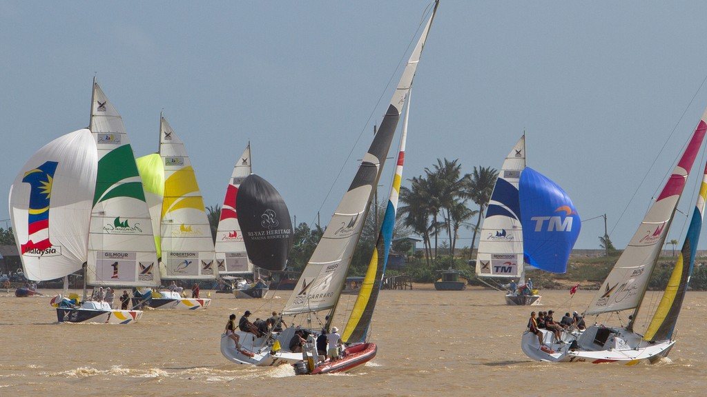 Quarter finals at the Monsoon Cup 2011 © Gareth Cooke/Subzero Images/ Monsoon Cup - copyright http://www.monsooncup.com.my