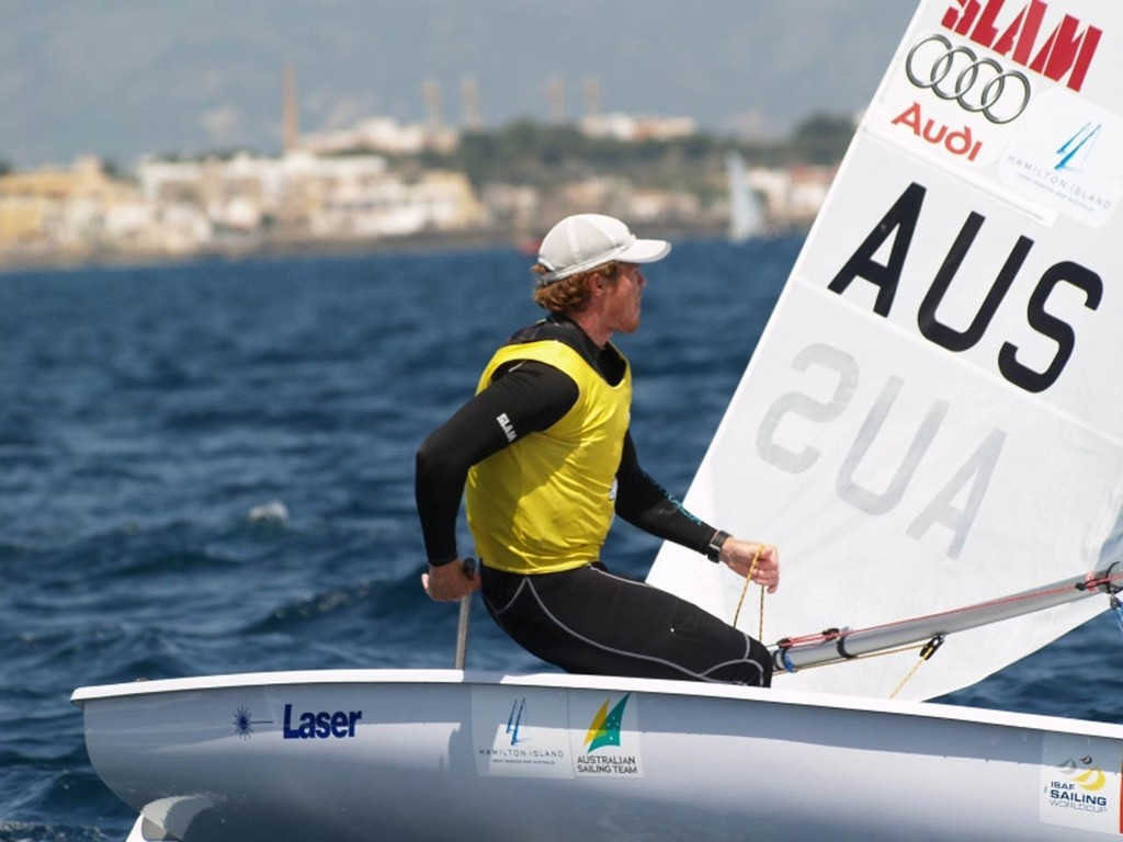 Tom Slingsby on his way to Silver in the Laser class - Trofeo SAR Princesa Sofia © Neus Jordi