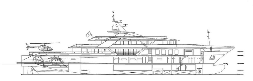 Ruea Yachts Launches Luxury 75 Metre Superyacht C