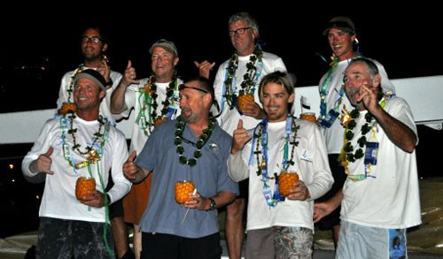 McDowell, 2nd from left, and crew - Transpac 2011 © Kimball Livingston/Transpac
