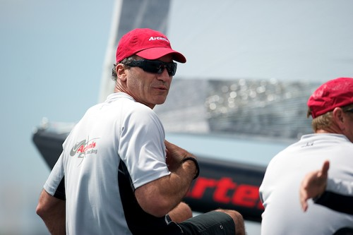 Paul Cayard, Artemis Racing - pictured at the 2011 Vulcain Trophy, Grand Prix Les Ambassadeurs D35  © Chris Schmid/ Eyemage Media (copyright) http://www.eyemage.ch