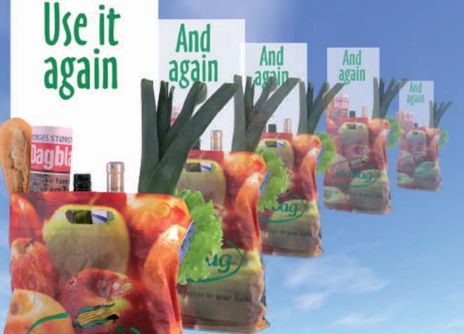 Biobag from your grocery supplier ©  SW
