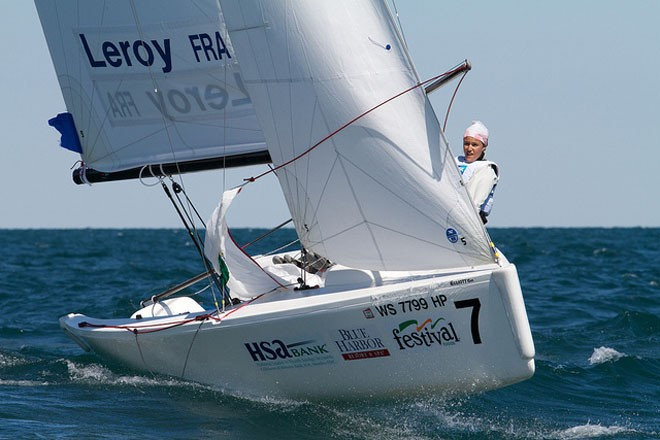 Leroy FRA - ISAF Nations Cup Grand Final 2011 © Sail Sheboygan - copyright