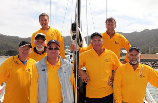 Brilliant Pearl Crew. Eric Hoger is at the back left. Sealink Magnetic Island Race Week 2011 ©  SW