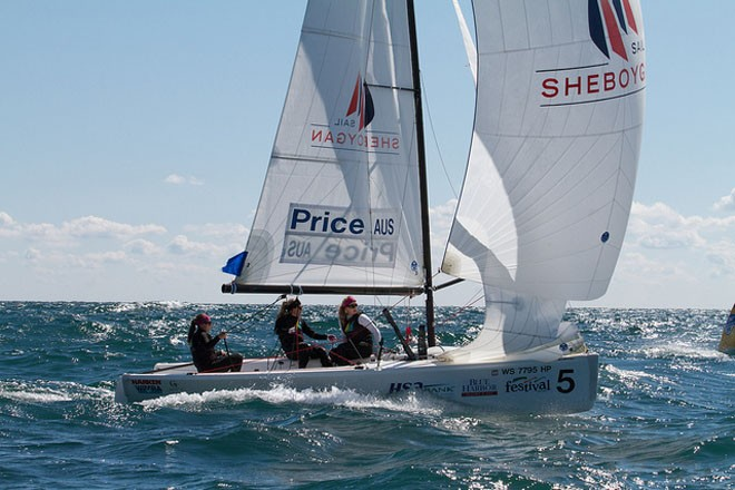 Price AUS - ISAF Nations Cup Grand Final 2011 © Sail Sheboygan - copyright