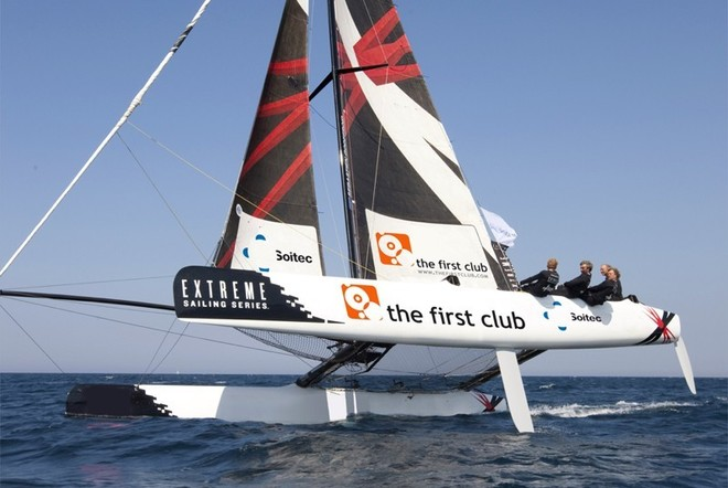Team Extreme - the first club - Extreme Sailing Series 2011 © Lloyd Images http://lloydimagesgallery.photoshelter.com/