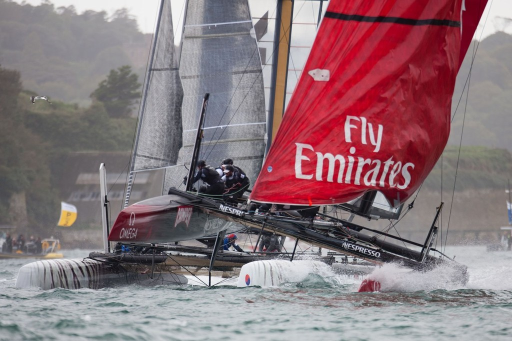 Racing Day 1 - America's Cup World Series, Plymouth England © ACEA - Photo Gilles Martin-Raget http://photo.americascup.com/