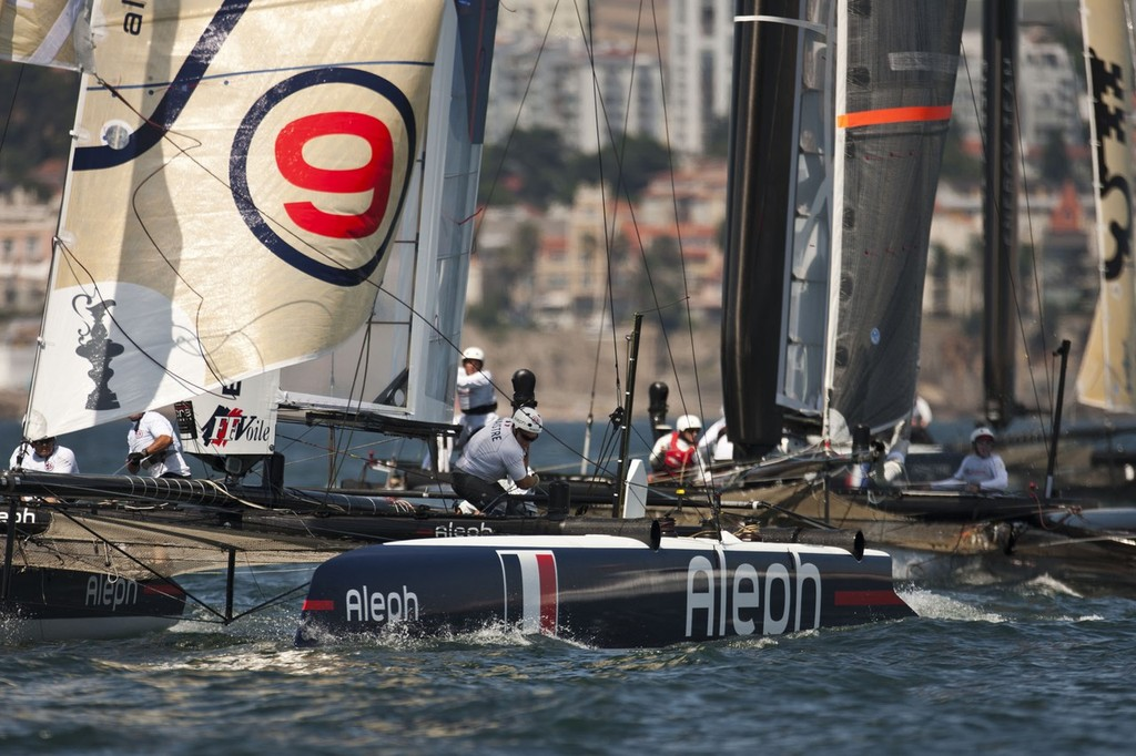 Aleph- - America's Cup World Series, Cascais, 3 August 2011 © ACEA - Photo Gilles Martin-Raget http://photo.americascup.com/