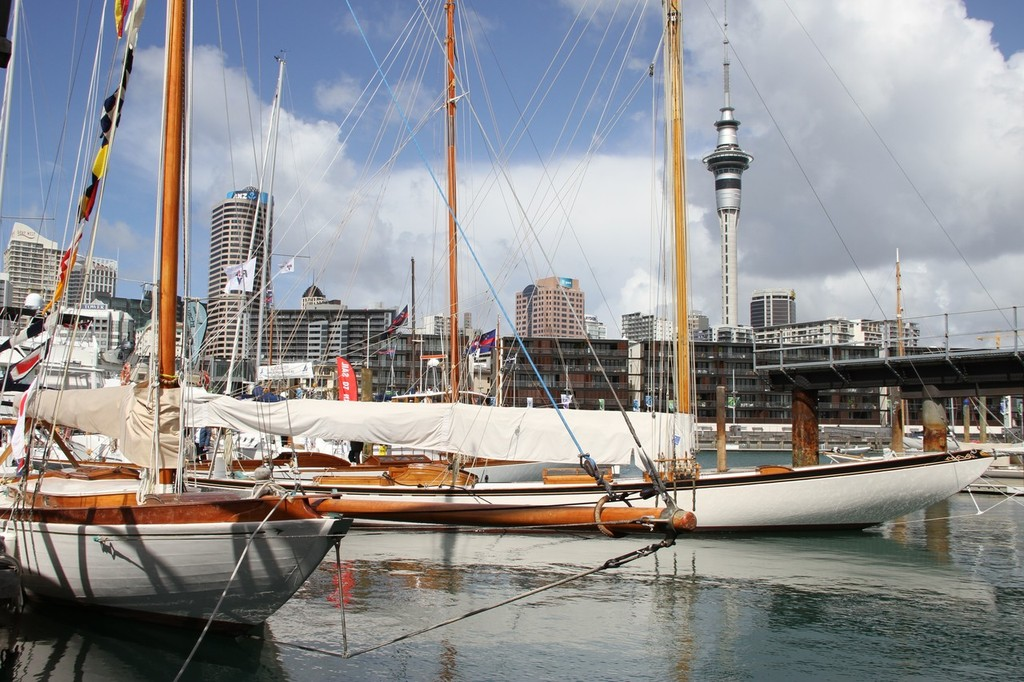 Classics Corner - Auckland International Boat Show, 16 September 2011 © Richard Gladwell www.photosport.co.nz