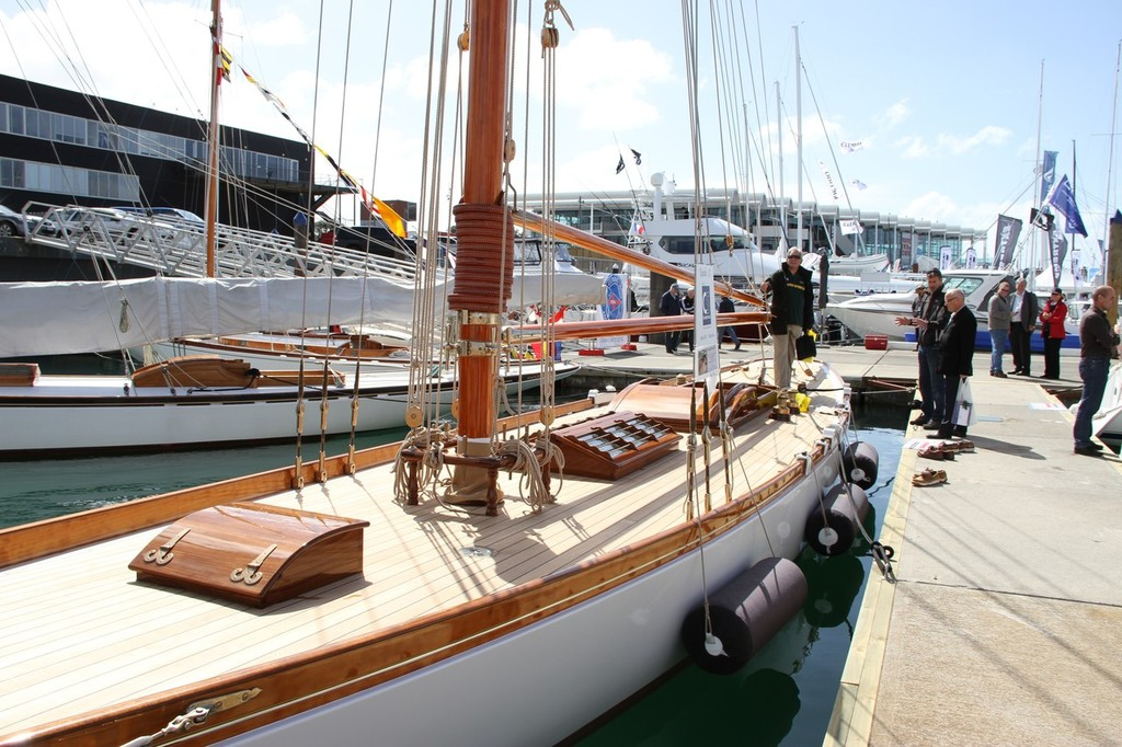 The restored Rawhiti - Auckland International Boat Show, 16 September 2011 © Richard Gladwell www.photosport.co.nz