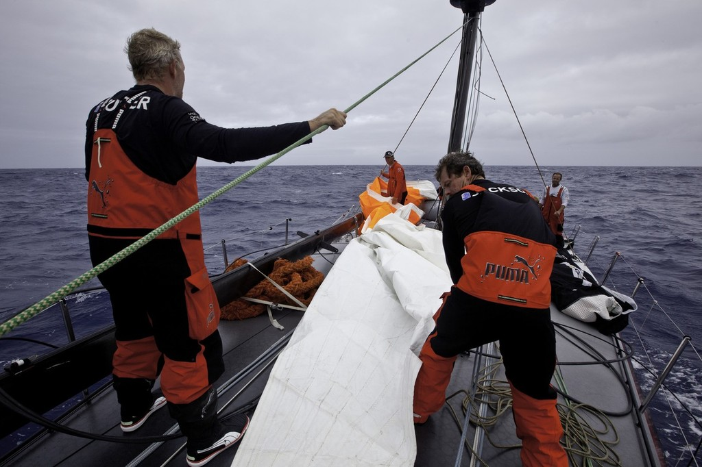 181fa2a05c1b Volvo Ocean Race- Self reliance a necessary option for Puma Racing