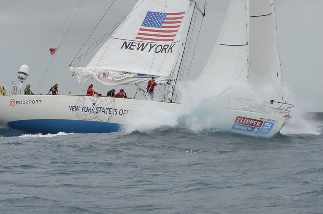 New York - Clipper 11-12 Round the World Yacht Race © Steve Holland/onEdition