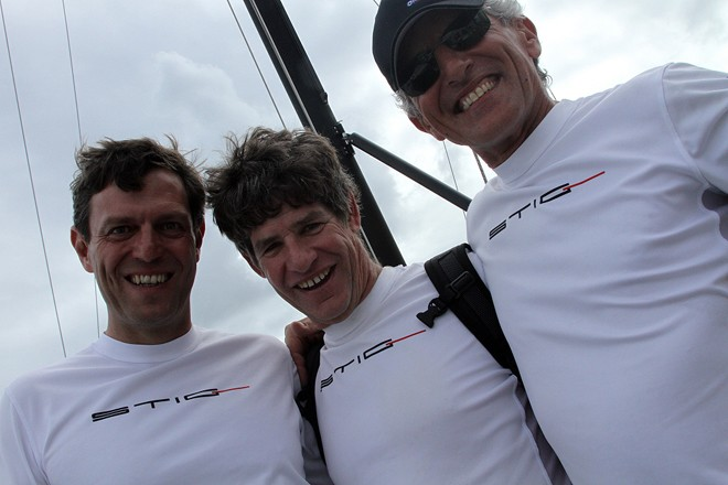 2011 Audi Melges 20 Gold Cup Champions, STIG - (from left to right) Alessandro Rombelli, Jonathan McKee, Giorgio Tortarolo © 2011 JOY | International Audi Melges 20 Class Association http://www.melges20.com