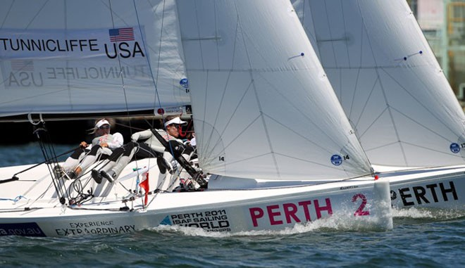 Womens Match Racing - ISAF Sailing World Championships Perth 2011 © Ocean Images