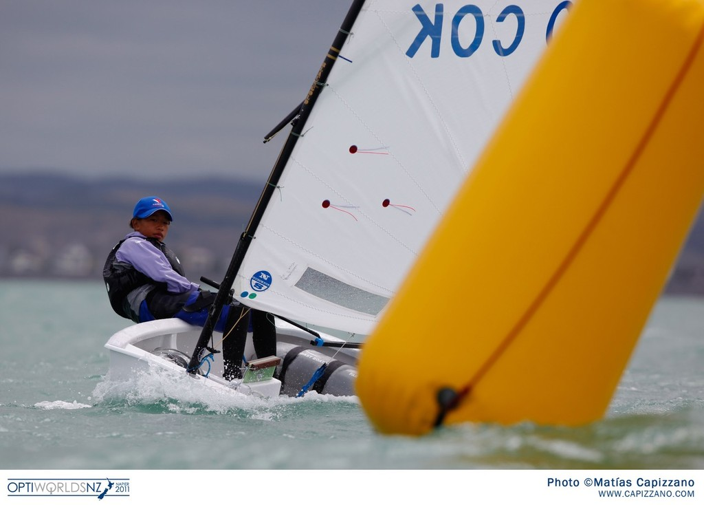 2011 Optimist Worlds Napier, Day 2 © Matías Capizzano/Optiworlds http://www.capizzano.com/