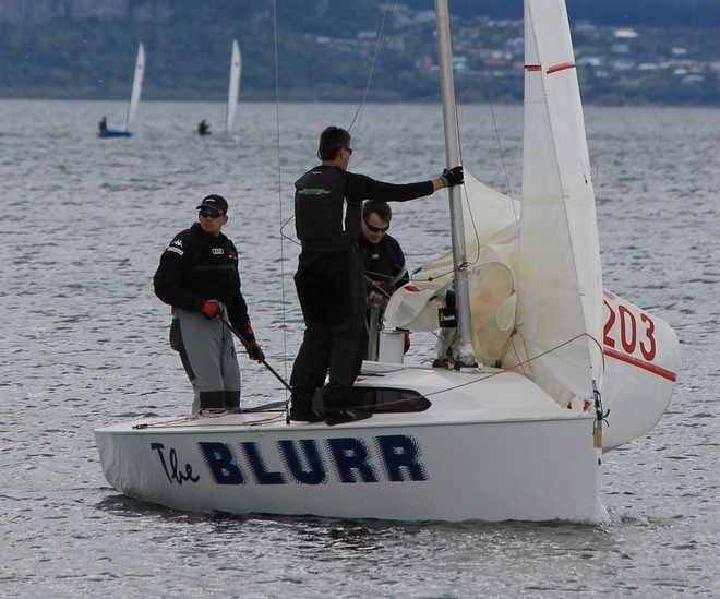 The Blurr, expected to be a top contender for 2012 NZ title - 2012 Elliott 5.9 Nationals © Leonie Anderson