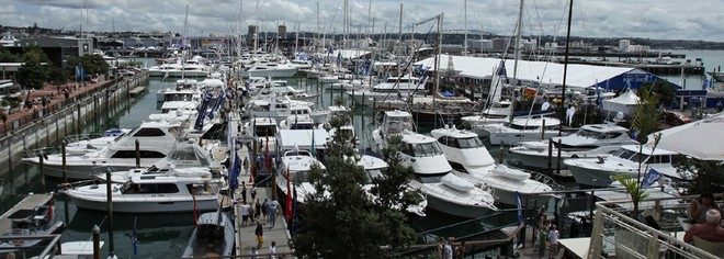 Auckland On Water Boat Show, a spectacular event in the heart of downtown Auckland. - Auckland On water BoatShow © Shane Kelly