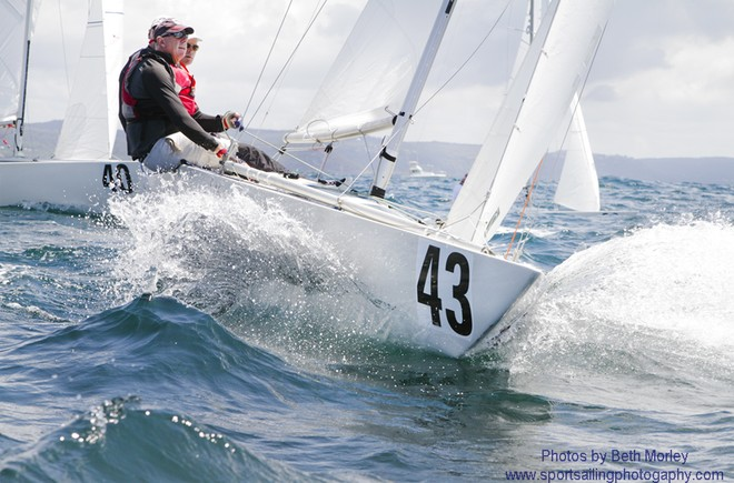 Magpie finished in 2nd Place at the 2012 Etchells Worlds - siled by Graeme Taylor, Grant Simmer and Steven Jarvin   © Beth Morley - Sport Sailing Photography http://www.sportsailingphotography.com