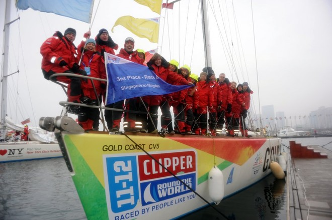 Gold Coast Australia crew in Qingdao ahead of Race 9 start to Oakland - Clipper 11-12 Round the World Yacht Race © onEdition http://www.onEdition.com