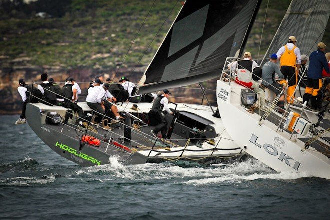 Awesome action anticipated - Sydney Harbour Regatta © Craig Greenhill / Saltwater Images http://www.saltwaterimages.com.au