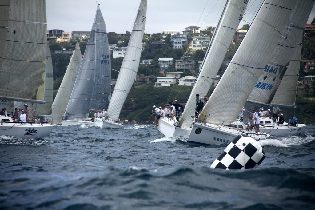 Action at the start on Day Three - Sydney 38OD Australian Championship 2012 © Damian Devine