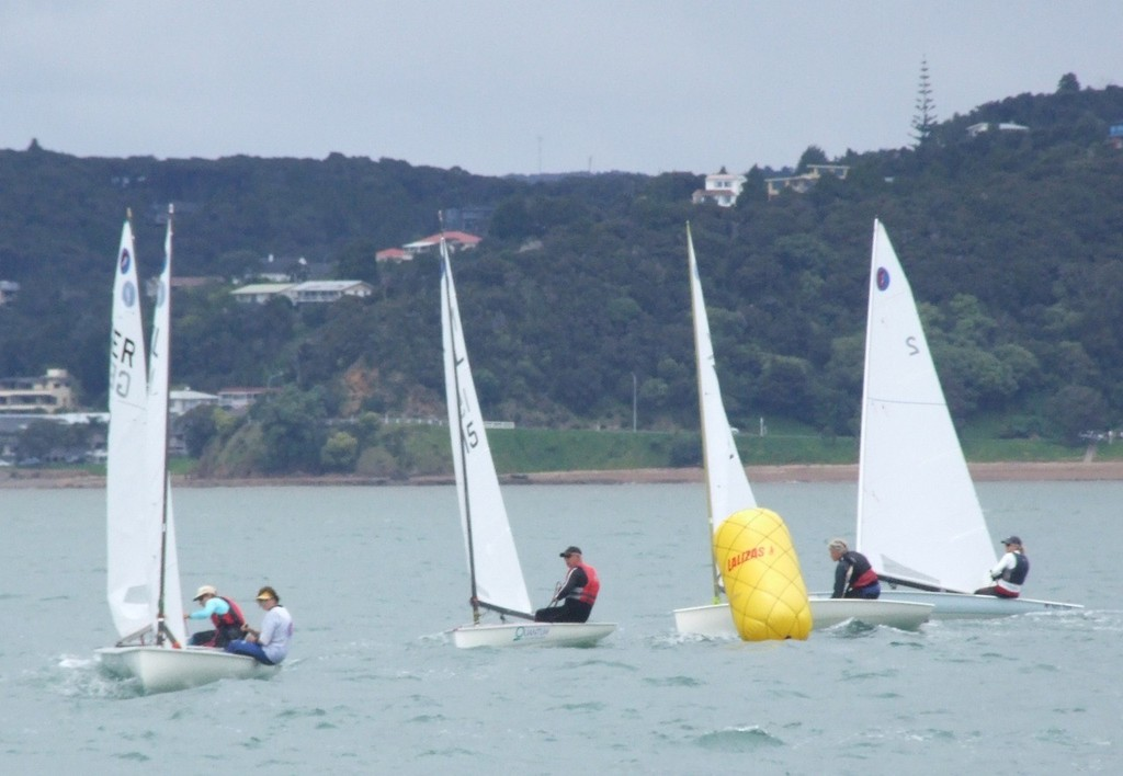 Close racing in wonderful conditions - 2012 Europe Dinghy Global Veteran Cup © Andy Greager